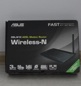 Asus DSL-N10 Wireless N