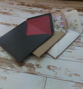 Подарочные конверты на заказ.