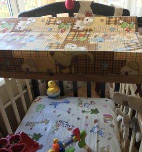 Пеленальный столик для комода или кроватки