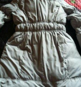 Пальто теплая зима/холодная осень 48 размер