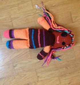 Кукла Лалалупси  вязаная