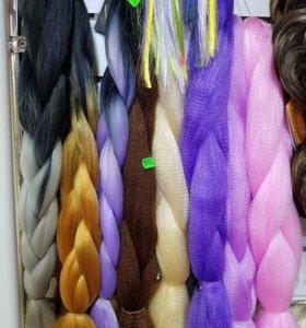 Волосы косы канекалон