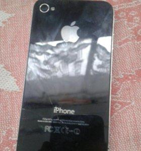 iPhone 4 на запчасти (торг уместен) есть чехол 150