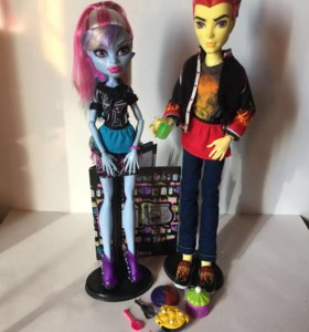 Куклы Эбби и Хит Monster High