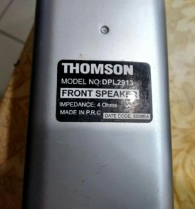 Колонки от К/т Thomson