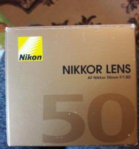 Объектив Nikon 50 mm