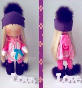 интерьерная кукла( тильда)