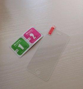 Защитное стекло для iPhone 5c/5s
