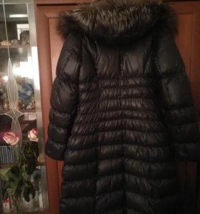 Пуховое пальто р 46-48