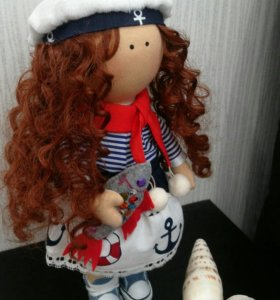 Куклы текстильные ручной работы