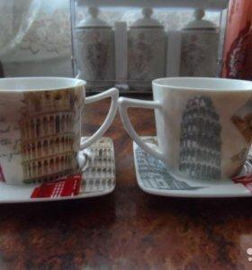 Чайный набор Европа прекрасный подарок