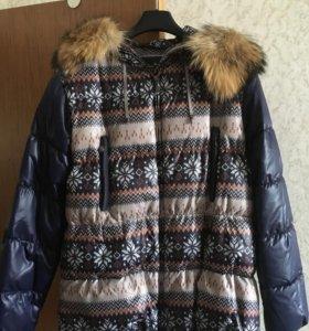 пуховик ( зимняя куртка) новый!!