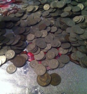 Монеты СССР,Германия,Украина,Россия-Раздельно
