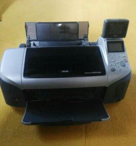 Принтер цветной Epson stylus photo R300