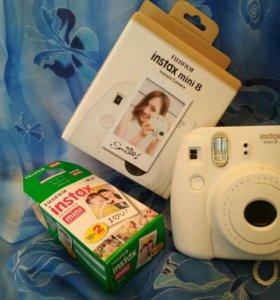 Polaroid fujifilm insta mini 8
