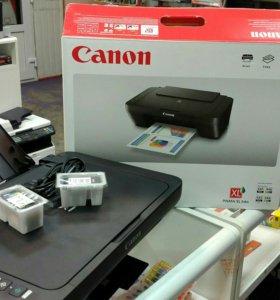 Мфу Canon mg2405s новый гарантия