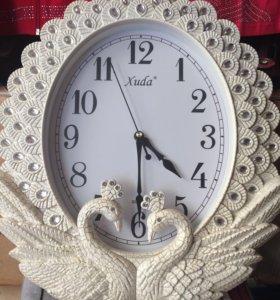Часы настенные павлин