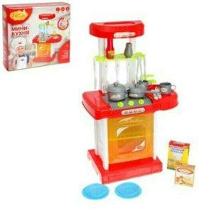 """Игровой набор мини-кухня в чемодане """"Лучшие колле"""