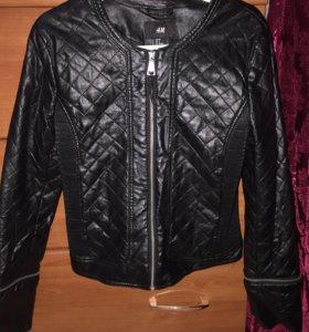 Куртка кожаная (под кожу)Н&М