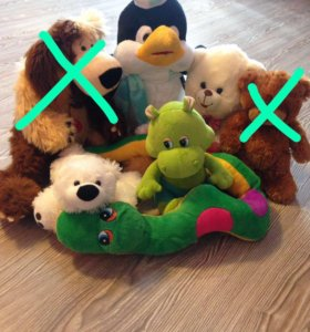 Детские мягкие игрушки