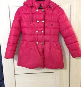 Куртка для девочки на осень, утепленная