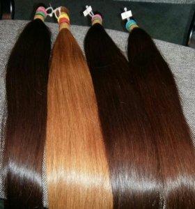 Славянские натуральные волосы