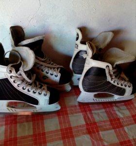 Коньки хоккейные 36,38 размер