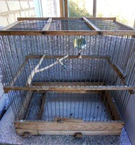 Клетка для птички!