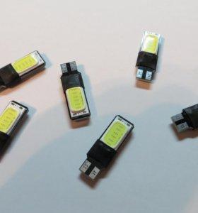 Светодиоды в габариты t10 W5W