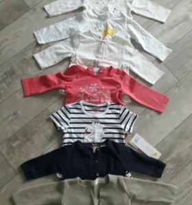 Одежда для малышки от 6 мес. до 1 года.