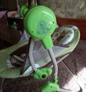 Детское кресло-качали от 0+
