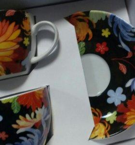 Подарочный набор для чаепития новый