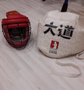 шлем 4000т.р, защита на грудь 1500тр