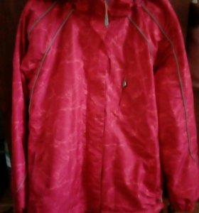 Куртка женская утепленная. Подклад-флис. Размер 48