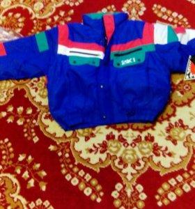 Куртка мужская зимняя спортивного стиля