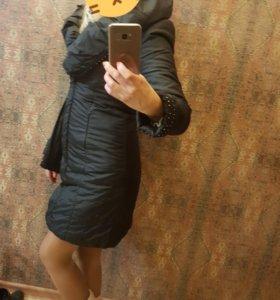 Пальто- куртка весна - осень. шапка в подарок.торг
