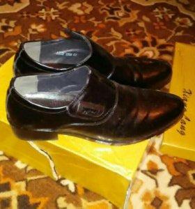 Мужские туфли осень-весна