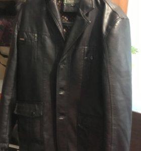 Мужская кожаная куртка новая!!!