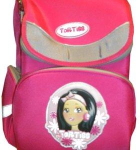 Школьный ранец TORTISS розовый