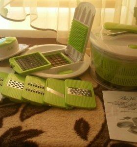 Овощерезка и сушилка для салатов и овощей