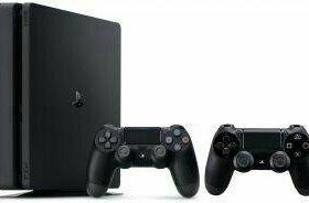 Sony playstation 4 slim 1tb + 2 dualshock v2