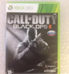 Call of duty black ops 2 на Xbox 360