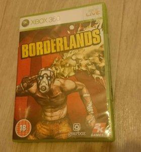 Игра на XBOX 360.BORDERLANDS