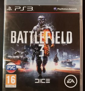 Battlefield 3 игра на ps3
