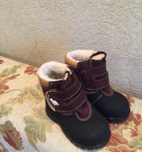 Зимние сапожки детские новые