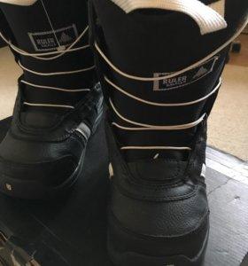 Ботинки детские для сноуборда Burton Ruler