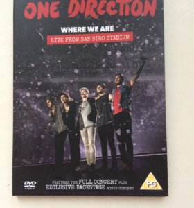 "One direction "" where we are"""