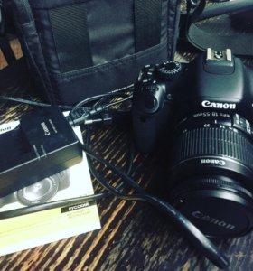 Canon EOS550D kit efs 18-55