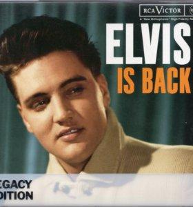 2хCD -Elvis Is Back /Something For Everybody