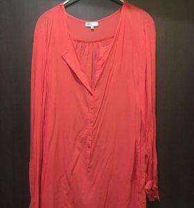 Блузка-рубашка 56-60 р